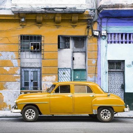 philippe-hugonnard-cuba-fuerte-collection-sq-yellow-vintage-american-car-in-havana
