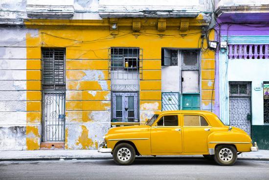 philippe-hugonnard-cuba-fuerte-collection-yellow-vintage-american-car-in-havana