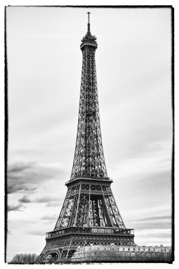 detail of eiffel tower paris france photographic print by philippe hugonnard at. Black Bedroom Furniture Sets. Home Design Ideas