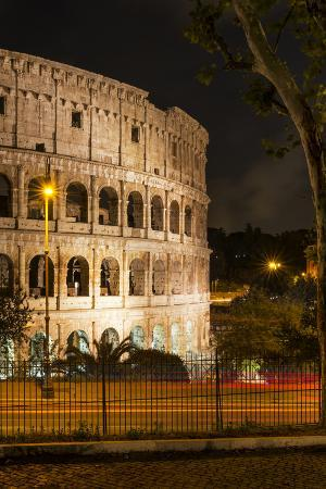 philippe-hugonnard-dolce-vita-rome-collection-the-colosseum-orange-night-ii