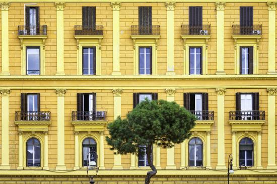 philippe-hugonnard-dolce-vita-rome-collection-yellow-building-facade