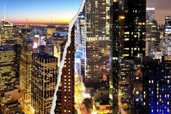 philippe-hugonnard-dual-torn-posters-series-new-york-city