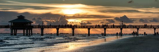 philippe-hugonnard-fishing-pier-fort-myers-beach-at-sunset