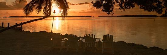 philippe-hugonnard-four-chairs-at-sunset-florida