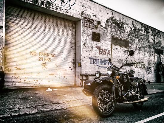 philippe-hugonnard-instants-of-ny-series-motorcycle-garage-in-brooklyn-manhattan-new-york-united-states-usa