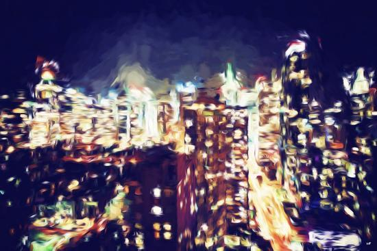 philippe-hugonnard-manhattan-night-vi-in-the-style-of-oil-painting