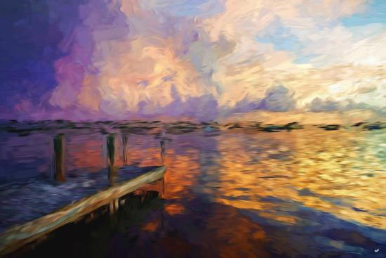philippe-hugonnard-mysterious-sunset-ii-in-the-style-of-oil-painting