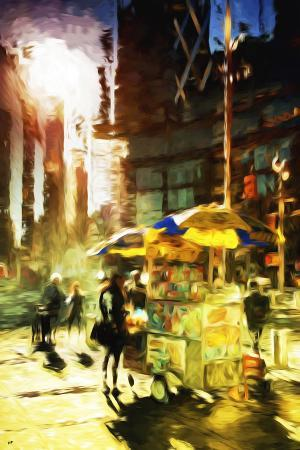 philippe-hugonnard-new-york-life-in-the-style-of-oil-painting