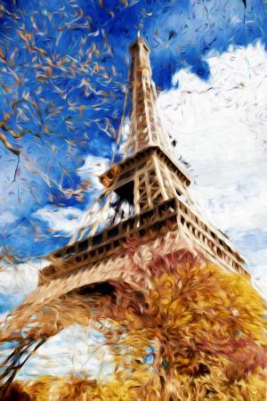 philippe-hugonnard-paris-eiffel-iii-in-the-style-of-oil-painting