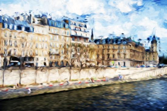 philippe-hugonnard-paris-seine-ii-in-the-style-of-oil-painting