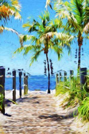 philippe-hugonnard-path-to-the-beach-iii-in-the-style-of-oil-painting