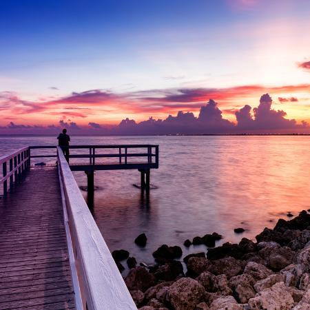 philippe-hugonnard-pier-at-sunset