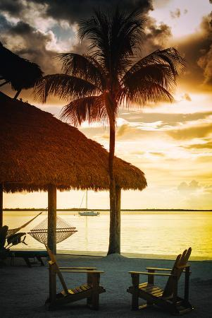 philippe-hugonnard-quiet-beach-at-sunset-florida