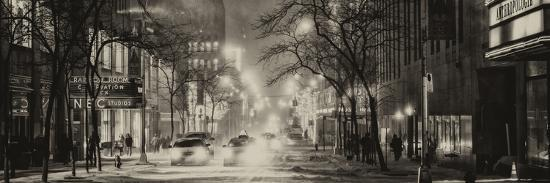 philippe-hugonnard-street-scenes-and-urban-night-panoramic-landscape-in-winter-under-the-snow