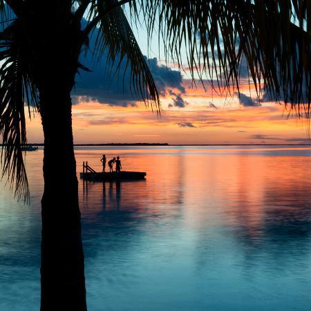 philippe-hugonnard-sunset-landscape-with-floating-platform-florida