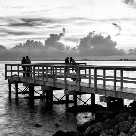 philippe-hugonnard-the-pier-at-sunset-lovers