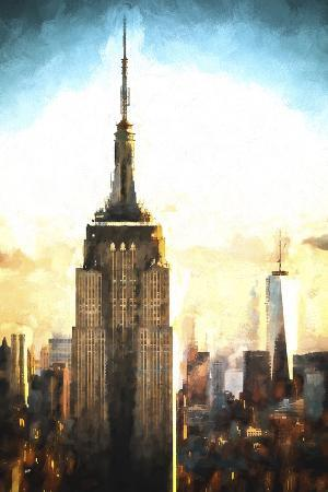 philippe-hugonnard-top-of-the-empire-state-building-at-sunset-ii