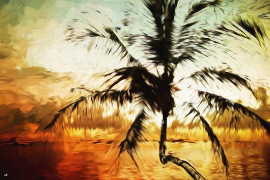 philippe-hugonnard-tropical-sunset-iv-in-the-style-of-oil-painting