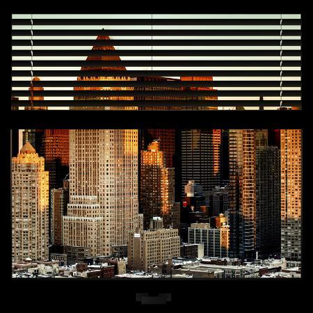 philippe-hugonnard-view-from-the-window-hell-s-kitchen-at-sunset-manhattan