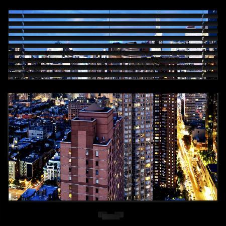 philippe-hugonnard-view-from-the-window-manhattan-night