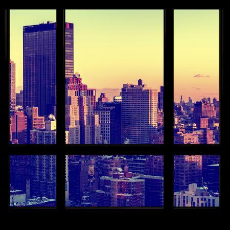 philippe-hugonnard-view-from-the-window-manhattan-sunset