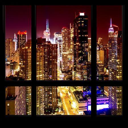 philippe-hugonnard-view-from-the-window-midtown-manhattan-night
