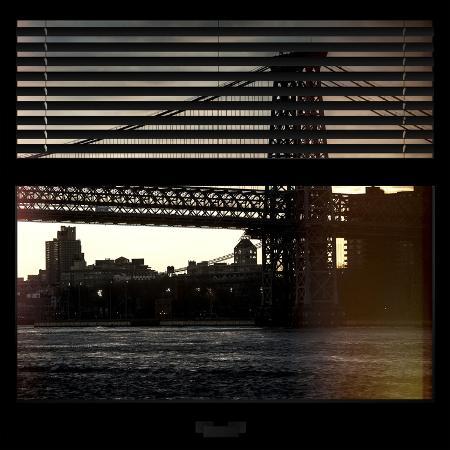 philippe-hugonnard-view-from-the-window-williamsburg-bridge-new-york