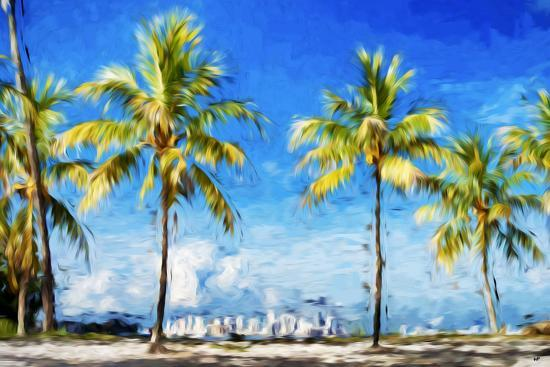 philippe-hugonnard-view-miami-ii-in-the-style-of-oil-painting