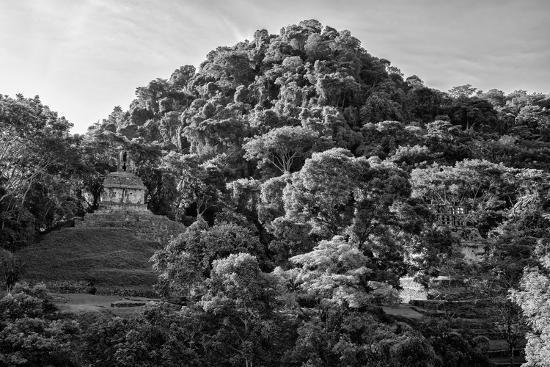 philippe-hugonnard-viva-mexico-b-w-collection-mayan-ruins-in-palenque-at-sunrise-ii