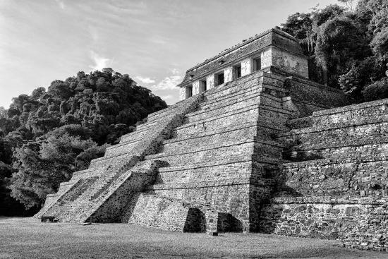 philippe-hugonnard-viva-mexico-b-w-collection-mayan-temple-of-inscriptions-i-palenque