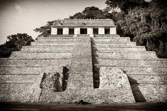 philippe-hugonnard-viva-mexico-b-w-collection-mayan-temple-of-inscriptions-iv-palenque