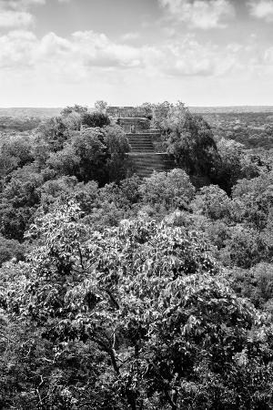 philippe-hugonnard-viva-mexico-b-w-collection-ruins-of-the-ancient-mayan-city-of-calakmul-ii