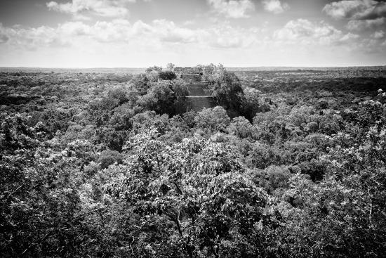 philippe-hugonnard-viva-mexico-b-w-collection-ruins-of-the-ancient-mayan-city-of-calakmul
