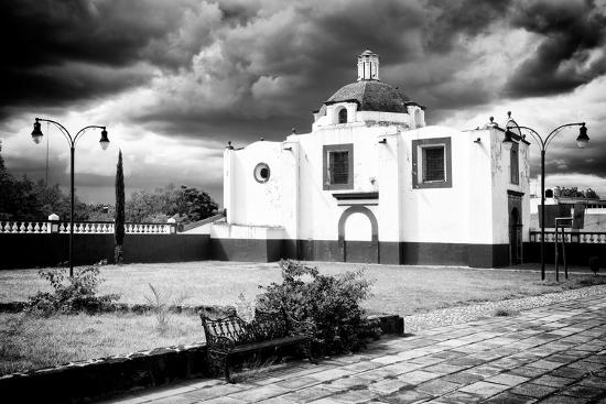 philippe-hugonnard-viva-mexico-b-w-collection-traditional-mexican-church-ii