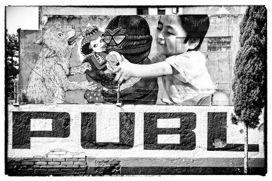 philippe-hugonnard-viva-mexico-b-w-collection-urban-art