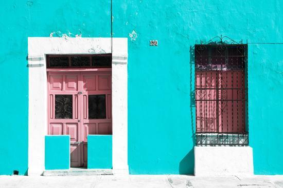 philippe-hugonnard-viva-mexico-collection-130-street-campeche-turquoise-wall