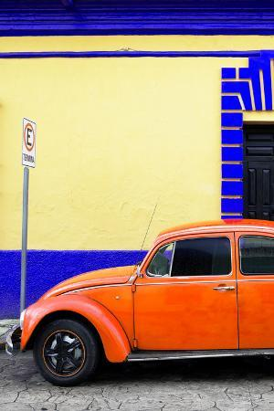 philippe-hugonnard-viva-mexico-collection-blue-vw-beetle-car-and-colorful-wall