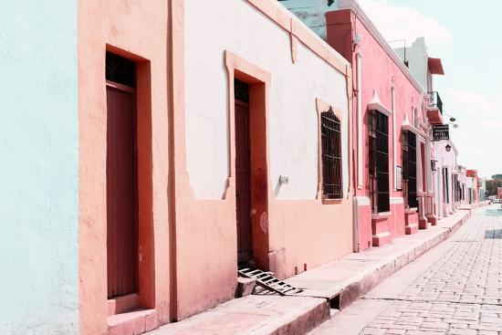 philippe-hugonnard-viva-mexico-collection-campeche-colorful-street-iv