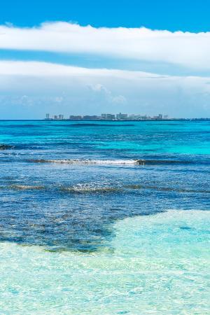 philippe-hugonnard-viva-mexico-collection-caribbean-coastline-overlooking-cancun-ii