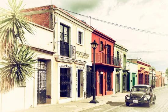 philippe-hugonnard-viva-mexico-collection-colorful-facades-and-black-vw-beetle-car-iv