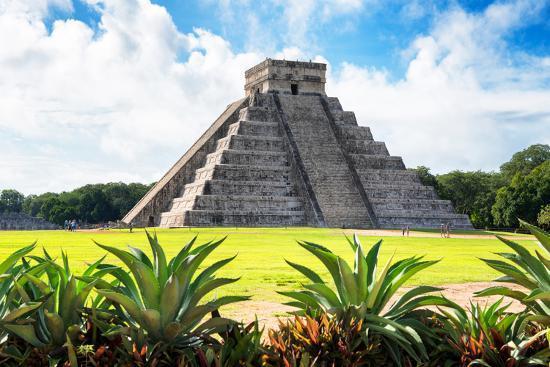 philippe-hugonnard-viva-mexico-collection-el-castillo-pyramid-of-the-chichen-itza-v