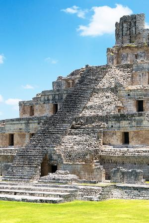 philippe-hugonnard-viva-mexico-collection-maya-archaeological-site-v-edzna-campeche