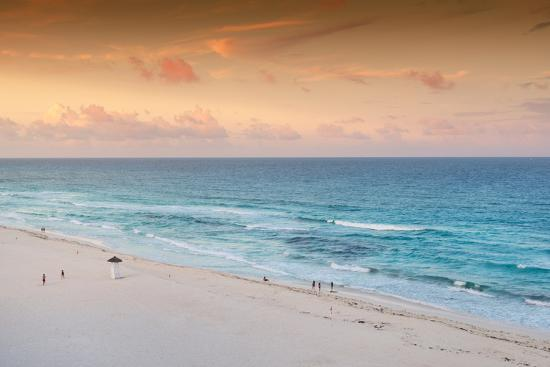 philippe-hugonnard-viva-mexico-collection-ocean-view-at-sunset-ii-cancun