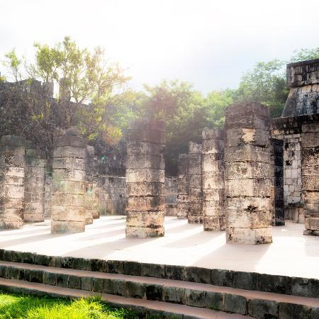 philippe-hugonnard-viva-mexico-collection-one-thousand-mayan-columns-v-chichen-itza