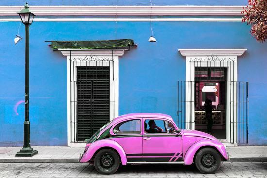 philippe-hugonnard-viva-mexico-collection-vw-beetle-car-blue-hot-pink