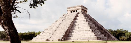 philippe-hugonnard-viva-mexico-panoramic-collection-el-castillo-pyramid-chichen-itza-xii