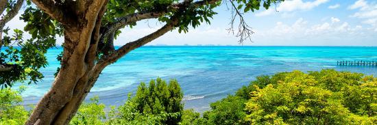 philippe-hugonnard-viva-mexico-panoramic-collection-isla-mujeres-coastline-iii