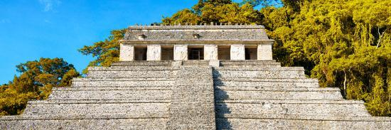 philippe-hugonnard-viva-mexico-panoramic-collection-mayan-temple-of-inscriptions-with-fall-colors-ii