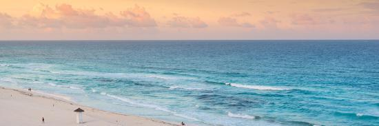 philippe-hugonnard-viva-mexico-panoramic-collection-ocean-view-at-sunset-ii-cancun