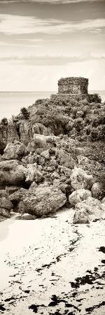 philippe-hugonnard-viva-mexico-panoramic-collection-tulum-ruins-along-caribbean-coastline-ii